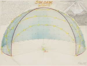 "Rockne Krebs  Sun Cage for ""Atlantis"", 1973"